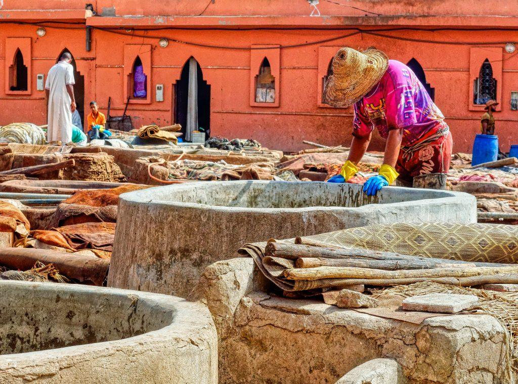 production cuir maroc