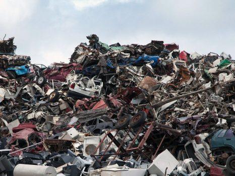 décharge recyclage métal